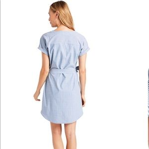 Vineyard Vines Dresses - VINEYARD VINES UPF Striped Harbor Tunic Dress-M&L